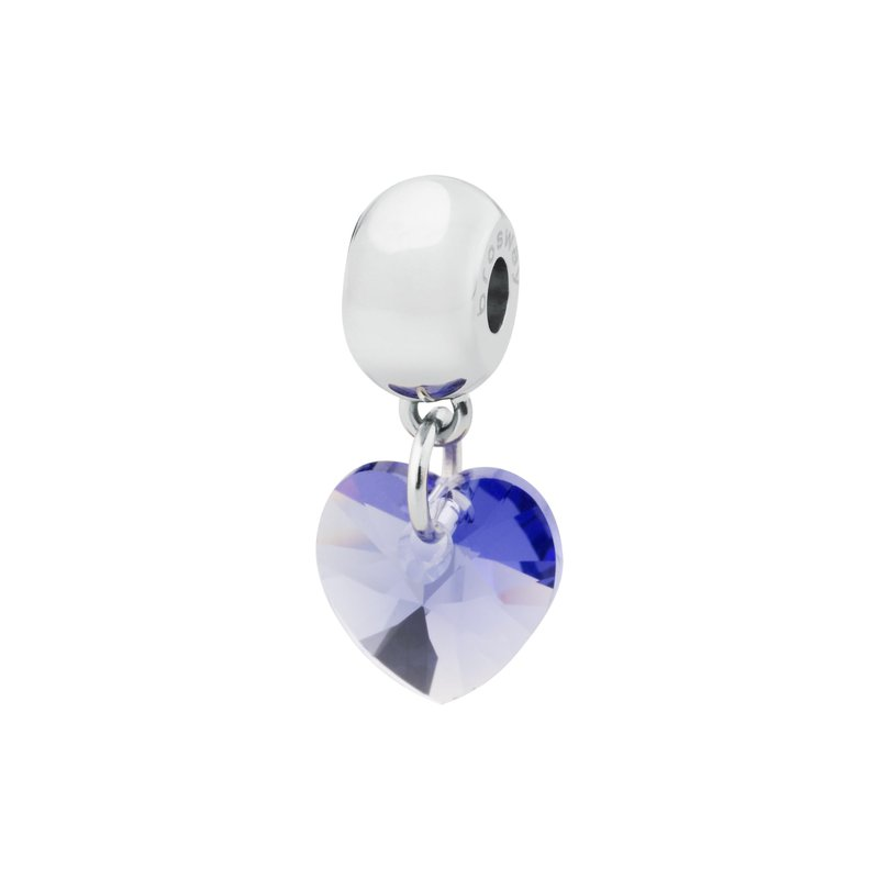 Brosway 316L stainless steel and tanzanite Swarovski® Elements crystals.