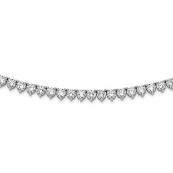 Sterling Silver 36 inch CZ Necklace