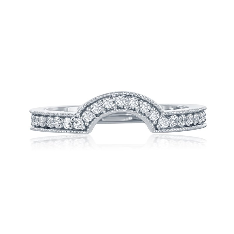 Veer Diamonds CELILIA SOLITAIRE MATCHING BAND