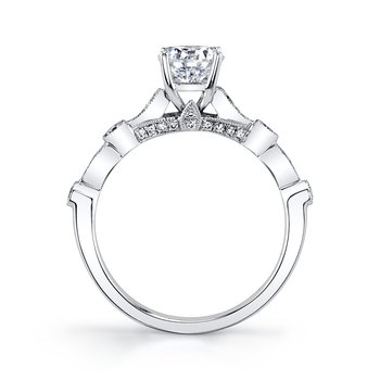 MARS 27130 Diamond Engagement Ring, 0.26 Ctw