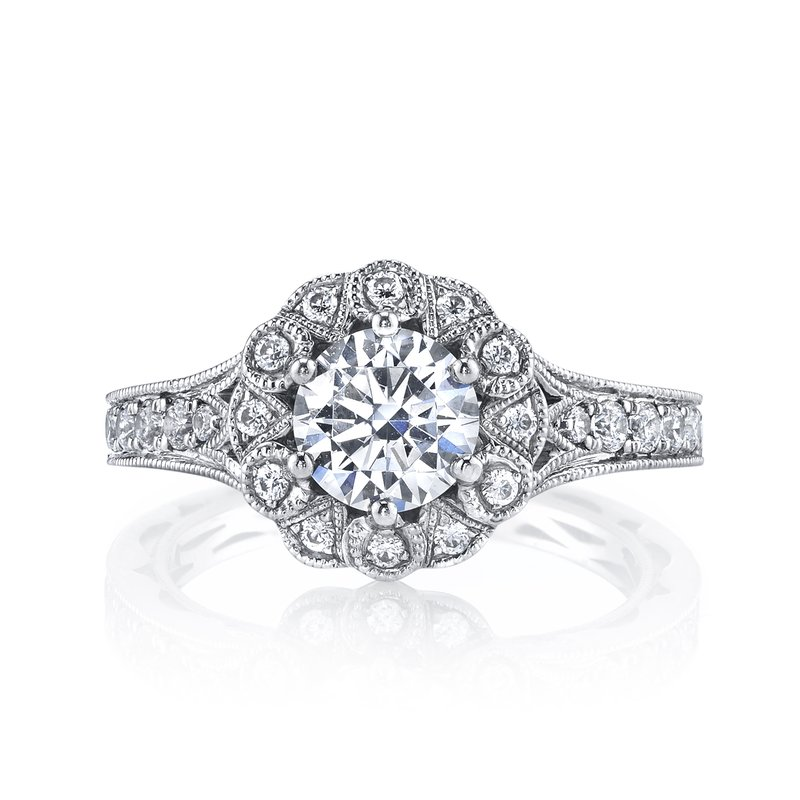 MARS Jewelry MARS 26006 Diamond Engagement Ring, 0.57 Ctw.