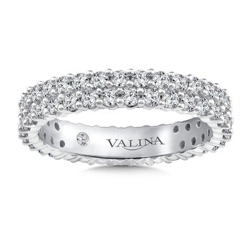 Valina Eternity Band (Size 6.5) in 14K White Gold (1.24ct. tw.)