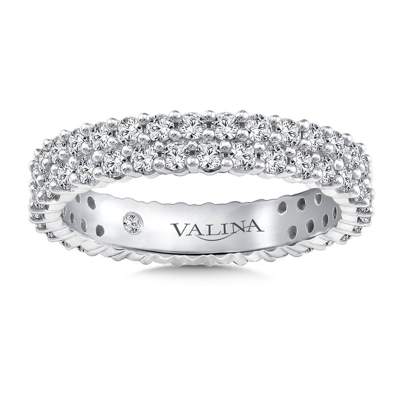Valina Valina Eternity Band (Size 6.5) in 14K White Gold (1.24ct. tw.)