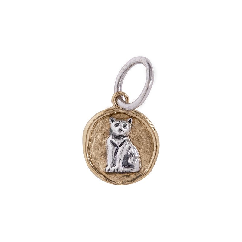 Waxing Poetic Camp Charm - Cat