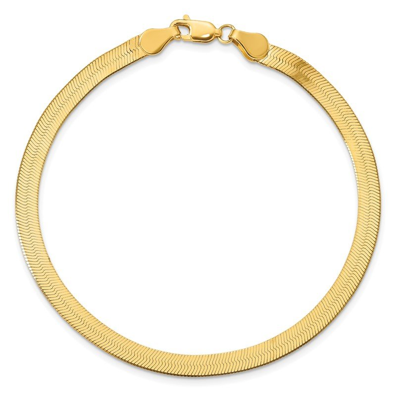 Quality Gold 14k 4mm Silky Herringbone Chain