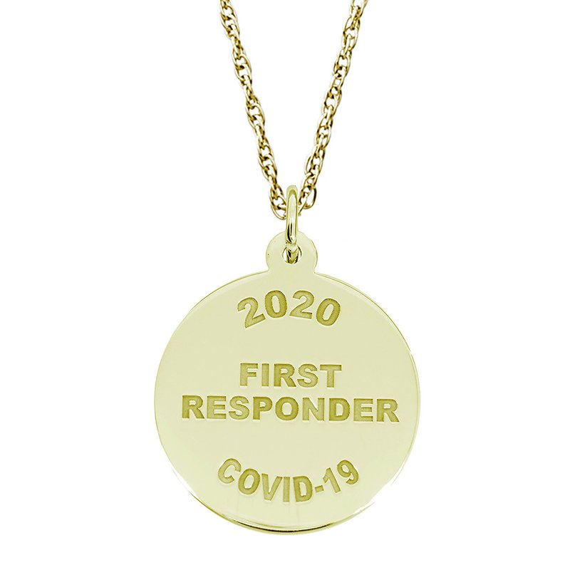 Rembrandt Charms Covid-19 First Responder Necklace Set