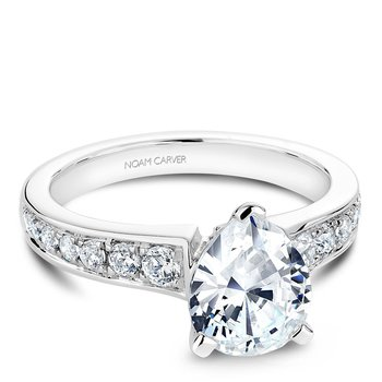 Noam Carver Fancy Engagement Ring B006-05A