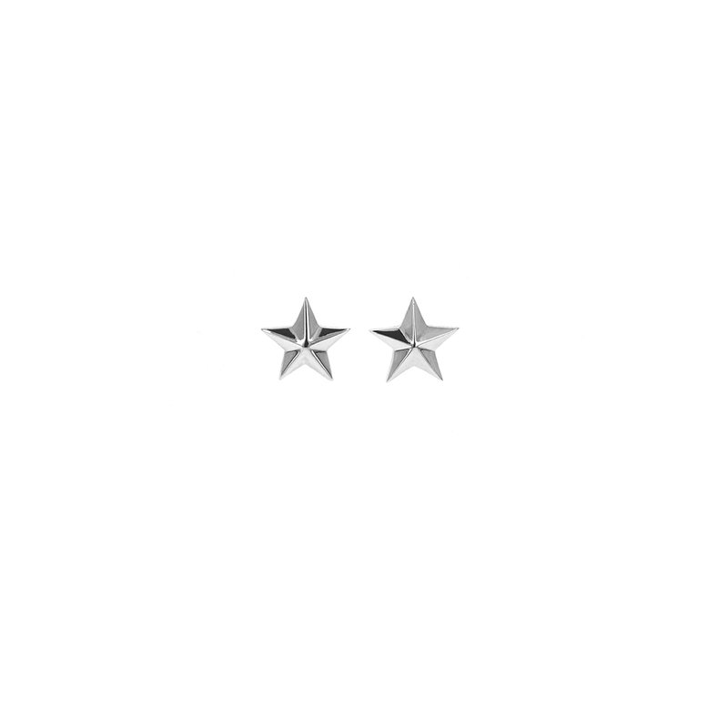 King Baby Five Pointed Star Stud Earring