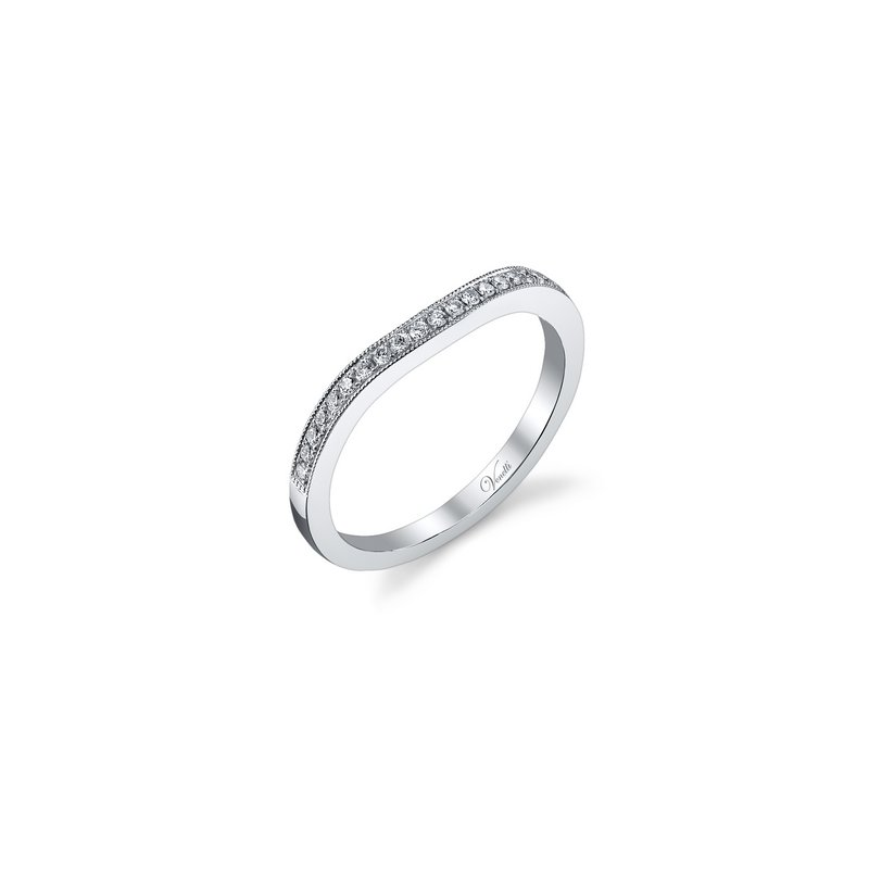 Venetti 14K W BAND 22RD 0.13CT