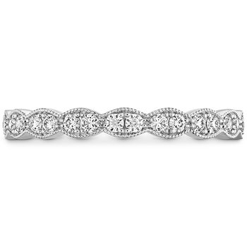 0.25 ctw. Lorelei Floral Milgrain Diamond Band