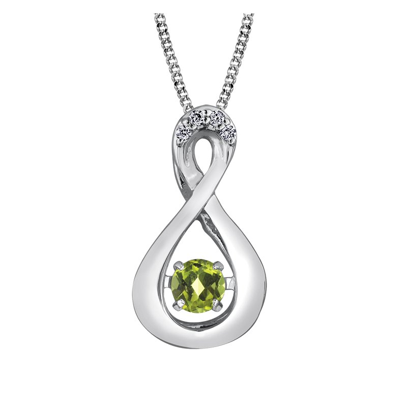 Diamond Days Pulse™ Peridot Pendant
