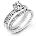 Simon G MR1549-D WEDDING SET