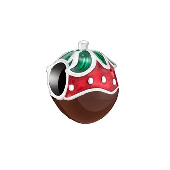 Chocolate Covered Strawberry Charm