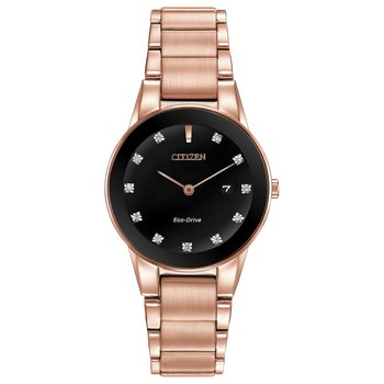 AXIOM Diamond and Rose Gold Watch