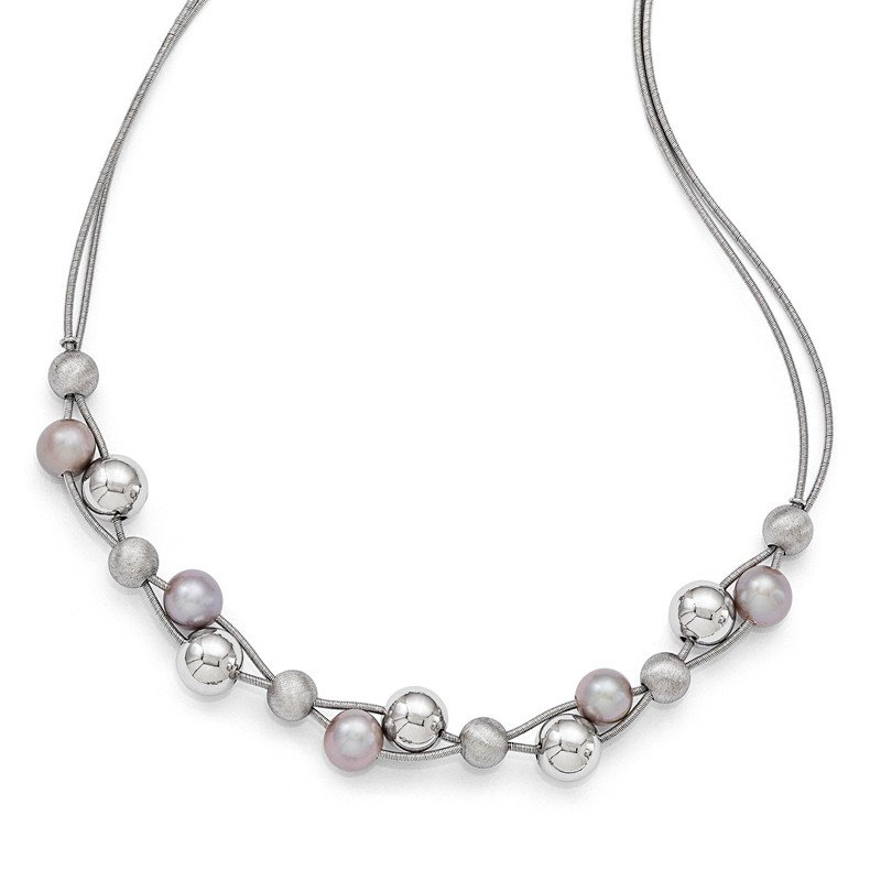 Leslie's Leslie's Sterling Silver Polished w/2.5in ext. Necklace