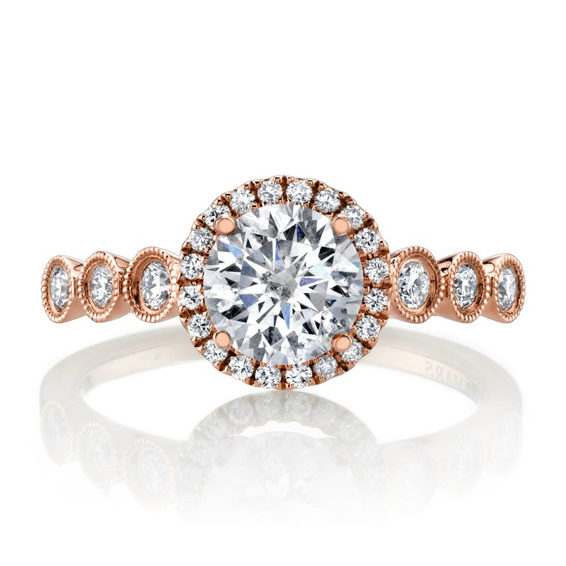 MARS Jewelry MARS 26941 Diamond Engagement Ring, 0.27 Ctw.