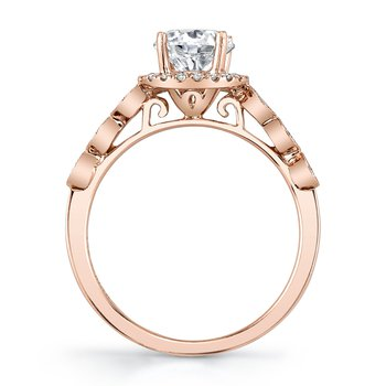 MARS 26941 Diamond Engagement Ring, 0.27 Ctw.