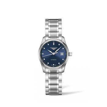 Master Collection 29mm Blue Dial Automatic Ladies Watch