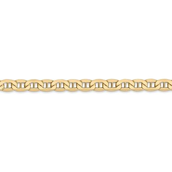 14k 4.75mm Semi-Solid Anchor Chain
