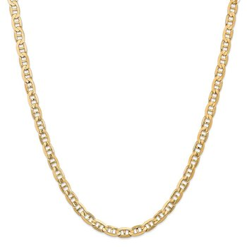 14k 6.25mm Concave Anchor Chain