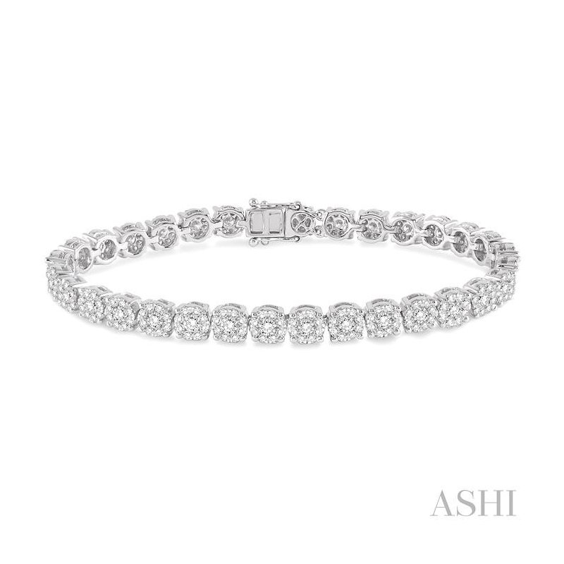 Barclay's Signature Collection lovebright essential diamond bracelet