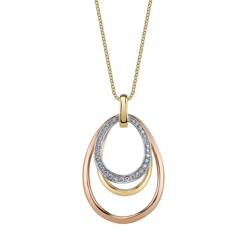 MARS Jewelry MARS 26587 Fashion Necklace, 0.16 Ctw.