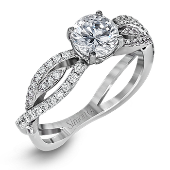 DR352 ENGAGEMENT RING