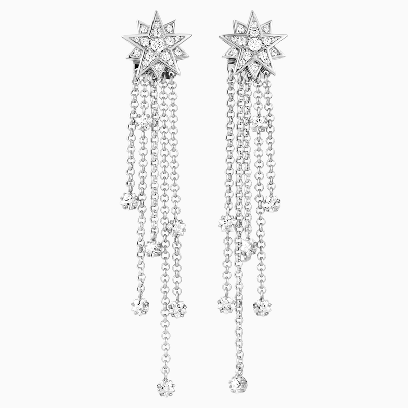Penélope Cruz Moonsun Strand Pierced Earrings, Limited Edition, White,  Rhodium plated
