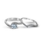 Zeghani ZR457 WEDDING SET