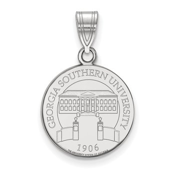 Sterling Silver Georgia Southern University NCAA Pendant