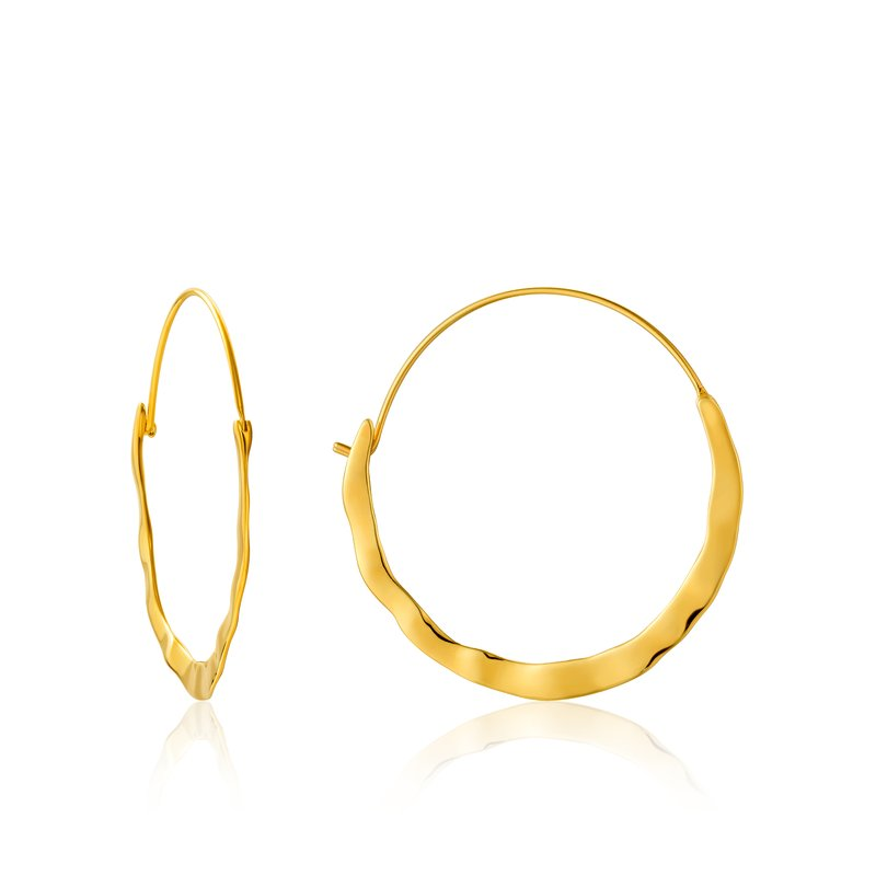 Ania Haie Crush Hoop Earrings