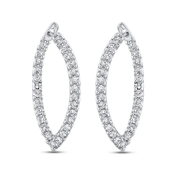 1.09 ct Round Diamond Fashion Earrings
