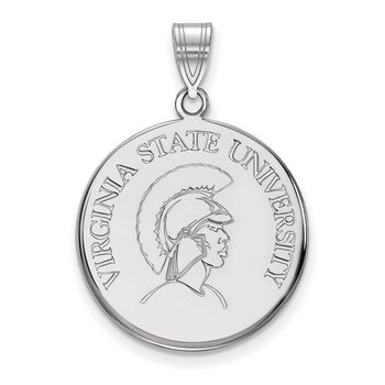 Gold Virginia State University NCAA Pendant