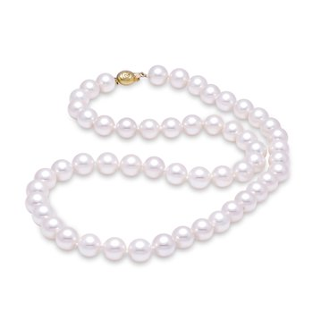"8.5-9MM 20"" Akoya Pearl Strand Necklace"