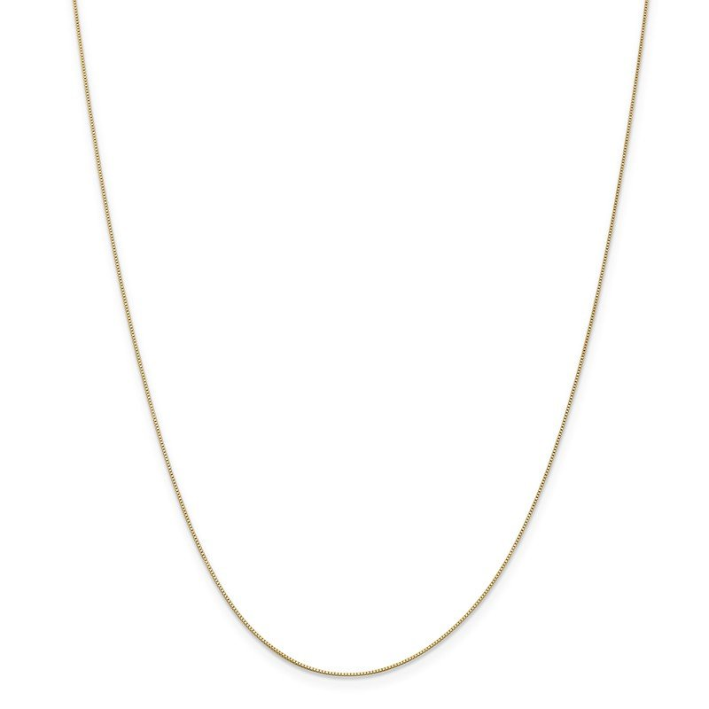 Leslie's Leslie's 14K .5 mm Baby Box Chain