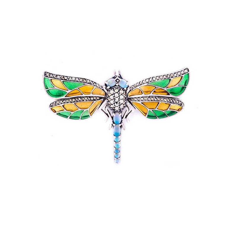 LARUS Jewelry Dragonfly Brooch