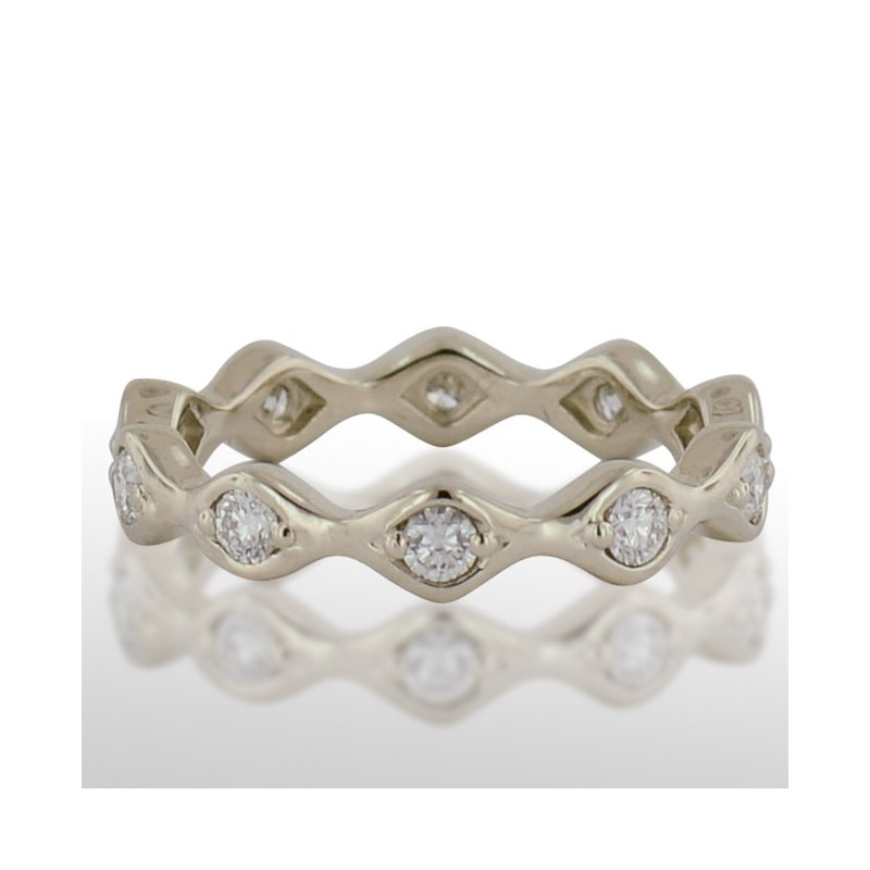 Novell Ladies' White Gold Diamond Ring
