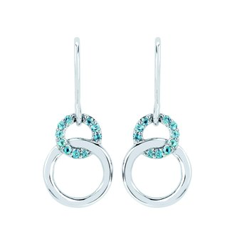 Earrings Rd G Aq 0.2