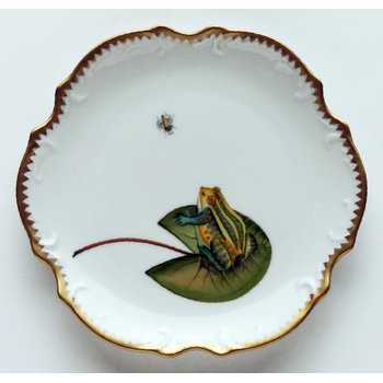 Frog On Lily Pad Bread & Butter Plate
