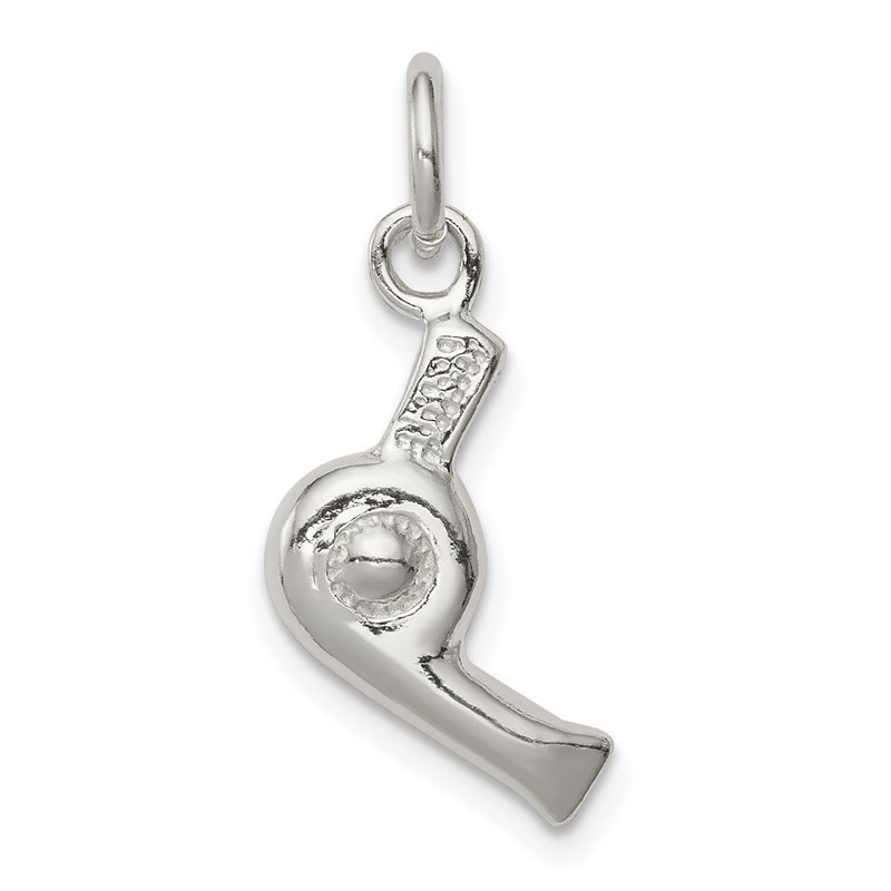 Quality Gold Sterling Silver Hair Dryer Charm