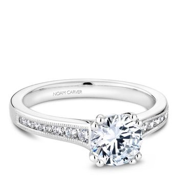 Noam Carver Vintage Engagement Ring B203-01A