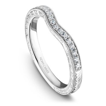 Noam Carver Wedding Band B050-01B