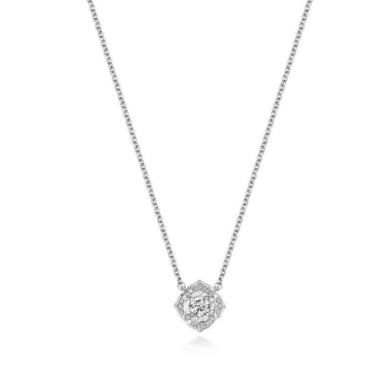Treasure Diamond Illusion Necklace