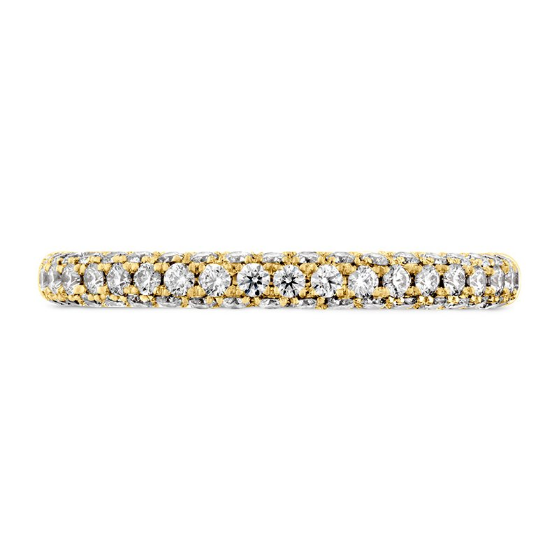 Hearts on Fire Euphoria Pave Band