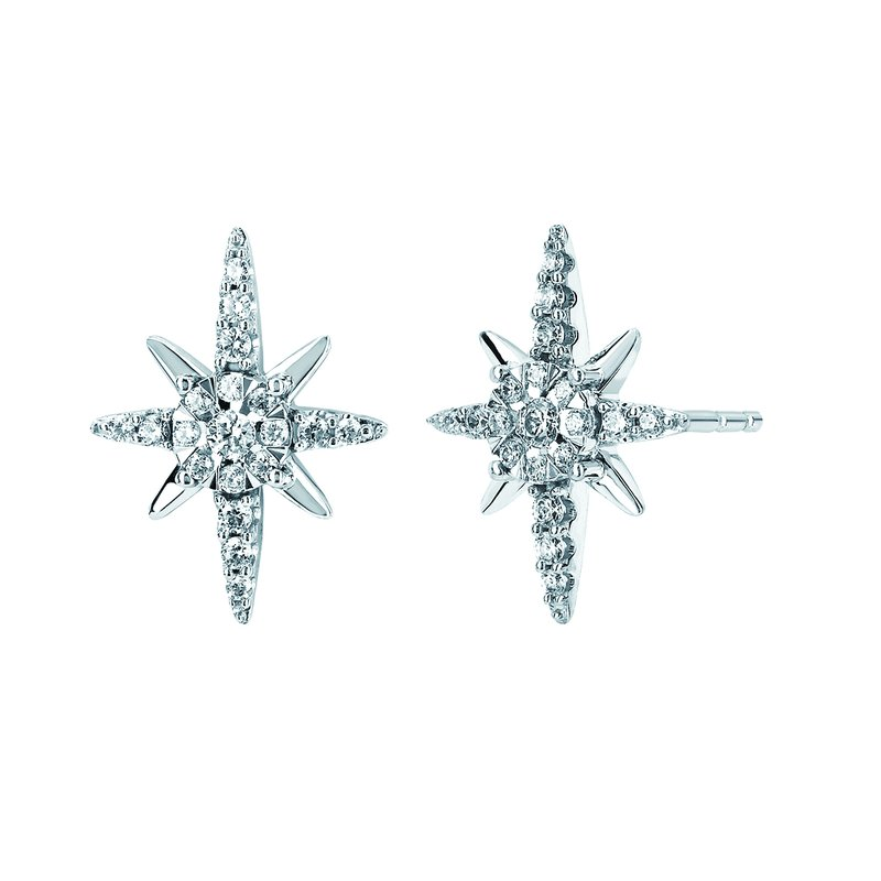 Classic Selection Earrings Rd V 0.256