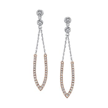 MARS 26904 Fashion Earrings, 0.38 Ctw.