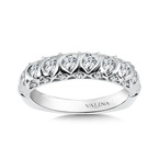 Valina Diamond and 14K White Gold Wedding Band (0.67 ct. tw.)
