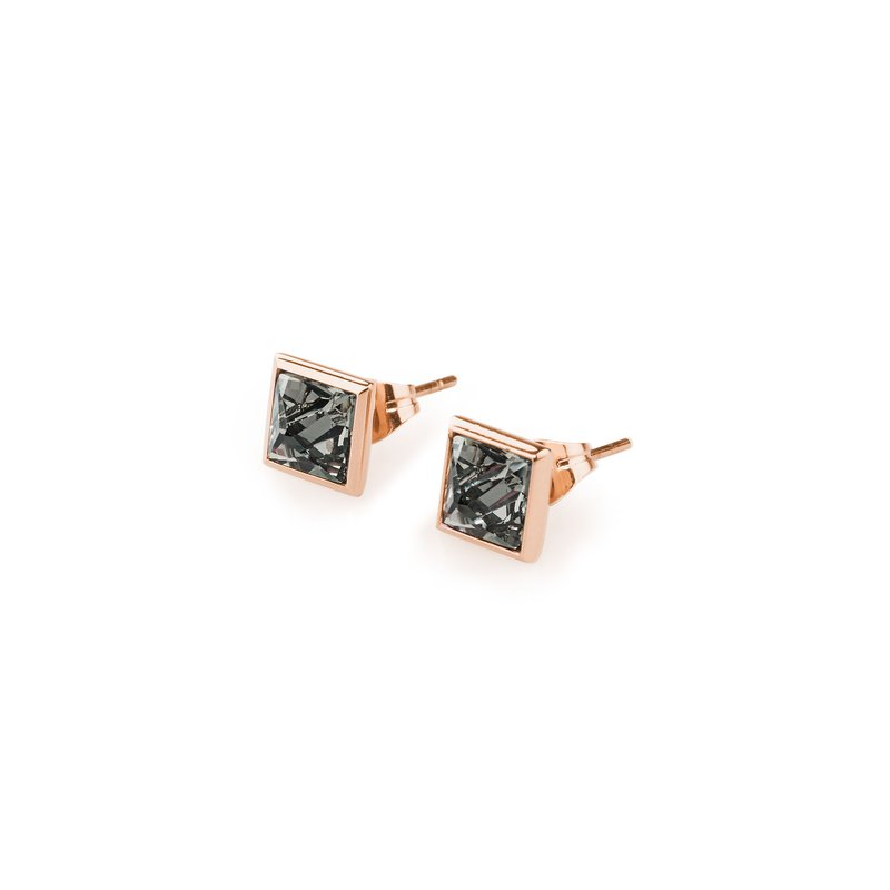 Brosway 316L stainless steel, rose gold pvd and black diamond Swarovski® Elements crystals.