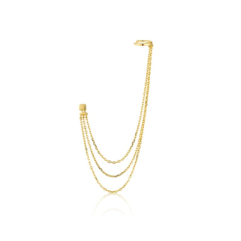 Ania Haie Draping Swing Ear Cuff
