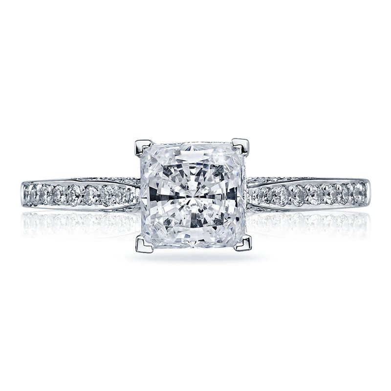Tacori Dantela Princess Cut Engagement Ring